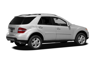 3/4 Rear Glamour  2008 Mercedes-Benz ML320