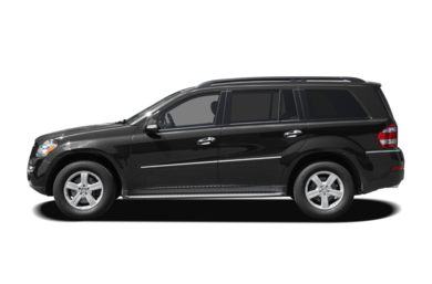 90 Degree Profile 2008 Mercedes-Benz GL320