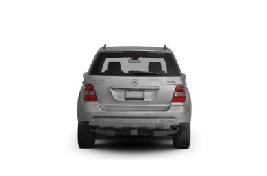 Surround Rear Profile 2008 Mercedes-Benz ML550