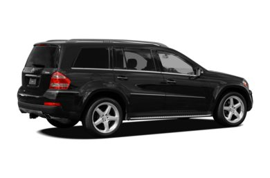 3/4 Rear Glamour  2008 Mercedes-Benz GL550