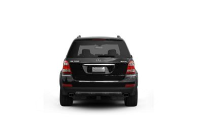 Surround Rear Profile 2008 Mercedes-Benz GL550
