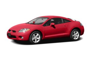 3/4 Front Glamour 2008 Mitsubishi Eclipse