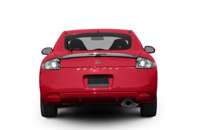 Rear Profile  2008 Mitsubishi Eclipse
