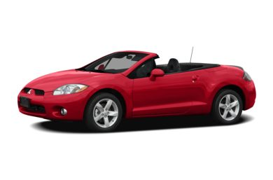 3/4 Front Glamour 2008 Mitsubishi Eclipse Spyder