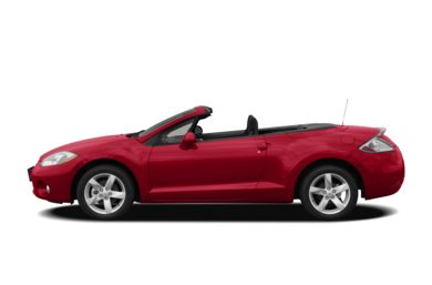 90 Degree Profile 2008 Mitsubishi Eclipse Spyder