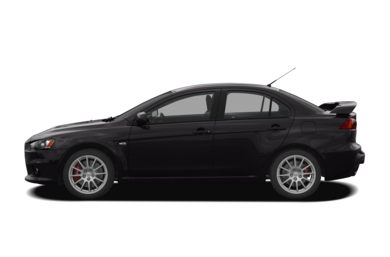 90 Degree Profile 2008 Mitsubishi Lancer Evolution