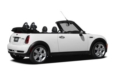 3/4 Rear Glamour  2008 MINI Convertible