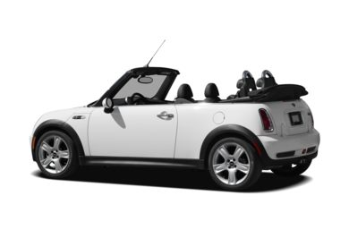 Surround 3/4 Rear - Drivers Side  2008 MINI Convertible