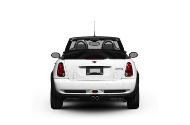 Surround Rear Profile 2008 MINI Convertible