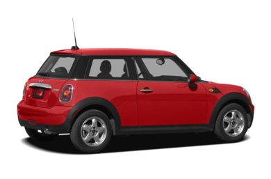 3/4 Rear Glamour  2008 MINI Hardtop