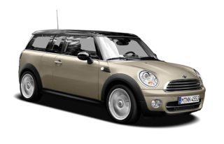 3/4 Front Glamour 2008 MINI Clubman
