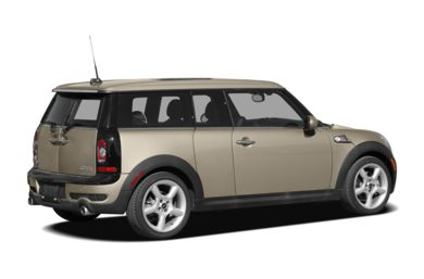 3/4 Rear Glamour  2008 MINI Clubman