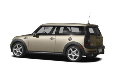 Surround 3/4 Rear - Drivers Side  2008 MINI Clubman