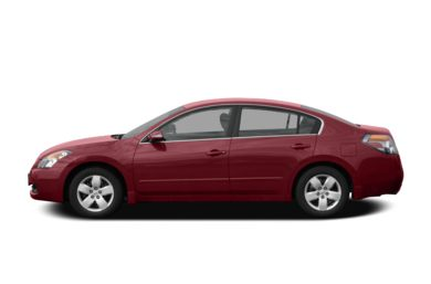 90 Degree Profile 2008 Nissan Altima