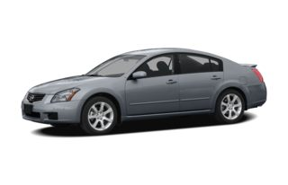 3/4 Front Glamour 2008 Nissan Maxima