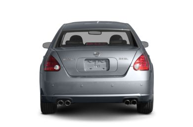 Rear Profile  2008 Nissan Maxima