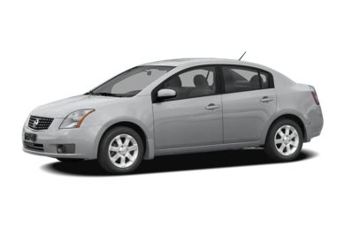3/4 Front Glamour 2008 Nissan Sentra