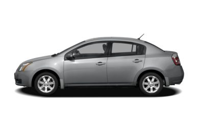 90 Degree Profile 2008 Nissan Sentra