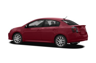 Surround 3/4 Rear - Drivers Side  2008 Nissan Sentra