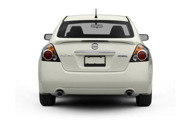 Rear Profile  2008 Nissan Altima Hybrid
