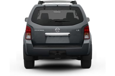 Rear Profile  2008 Nissan Pathfinder