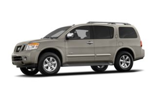 3/4 Front Glamour 2008 Nissan Armada