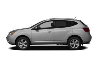 90 Degree Profile 2008 Nissan Rogue