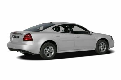 3/4 Rear Glamour  2008 Pontiac Grand Prix