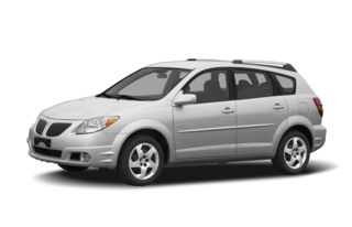 3/4 Front Glamour 2008 Pontiac Vibe