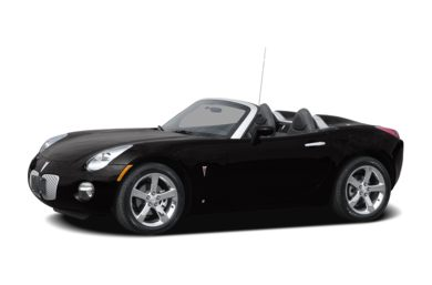 3/4 Front Glamour 2008 Pontiac Solstice