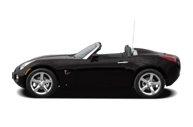 90 Degree Profile 2008 Pontiac Solstice