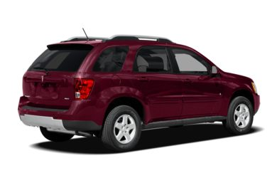 3/4 Rear Glamour  2008 Pontiac Torrent