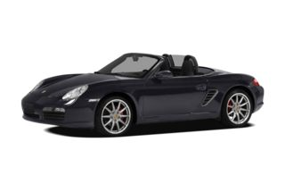 3/4 Front Glamour 2008 Porsche Boxster