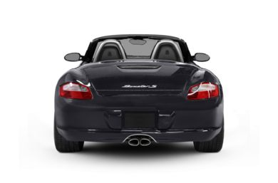 Rear Profile  2008 Porsche Boxster