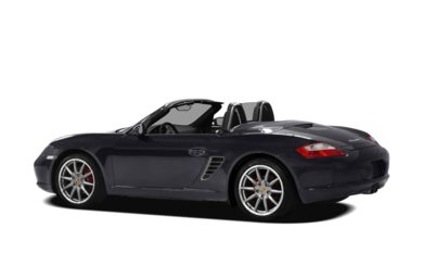 Surround 3/4 Rear - Drivers Side  2008 Porsche Boxster