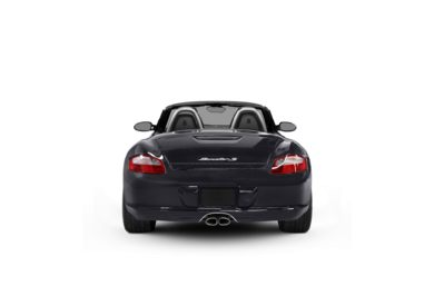 Surround Rear Profile 2008 Porsche Boxster