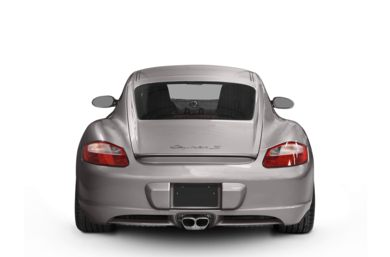 Rear Profile  2008 Porsche Cayman S