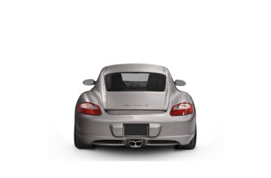 Surround Rear Profile 2008 Porsche Cayman S