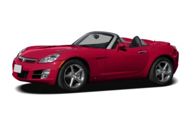 3/4 Front Glamour 2007 Saturn Sky