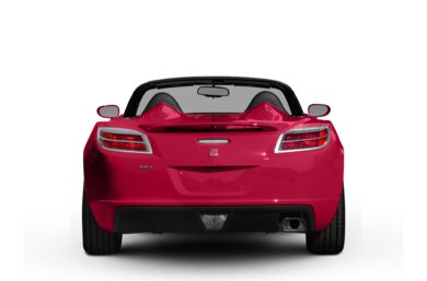 Rear Profile  2008 Saturn Sky