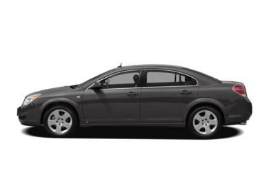 90 Degree Profile 2008 Saturn Aura