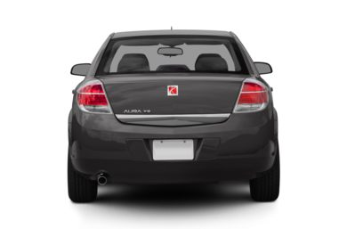 Rear Profile  2008 Saturn Aura