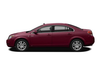 90 Degree Profile 2008 Saturn Aura Green Line Hybrid