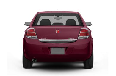 Rear Profile  2008 Saturn Aura Green Line Hybrid