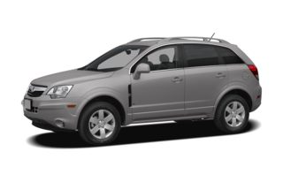 3/4 Front Glamour 2008 Saturn VUE