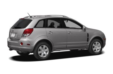 3/4 Rear Glamour  2008 Saturn VUE