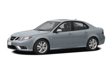 3/4 Front Glamour 2008 Saab 9-3