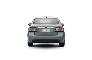 Surround Rear Profile 2008 Saab 9-3