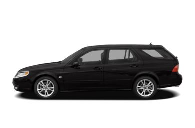 90 Degree Profile 2008 Saab 9-5