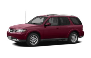 3/4 Front Glamour 2008 Saab 9-7X